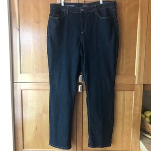 NYDJ Marilyn Straight Plus Size Jeans Size 18W